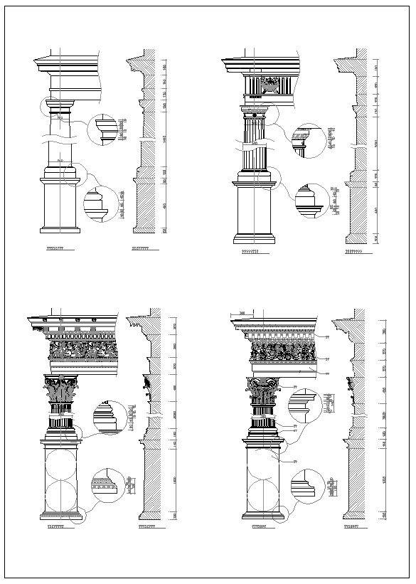 Pin On Neoclassical Design Column Design Column Details Wrought