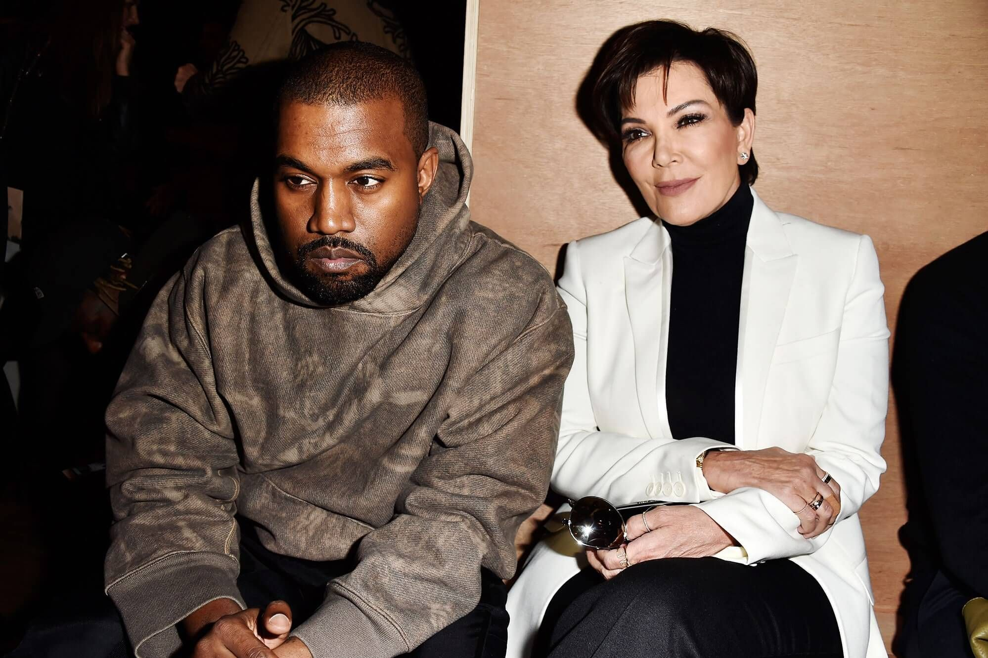 Kanye West Turns On Mother In Law Kris Jenner Bans Her From Seeing His Kids In 2020 Kris Jenner Kanye West Kim And Kanye
