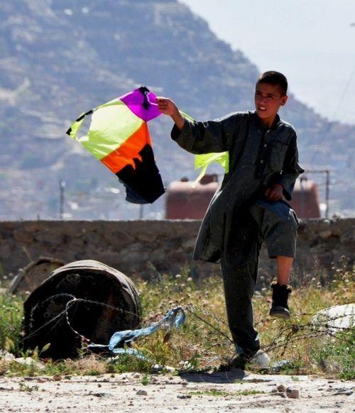 Kite Snatcher - Afghanistan