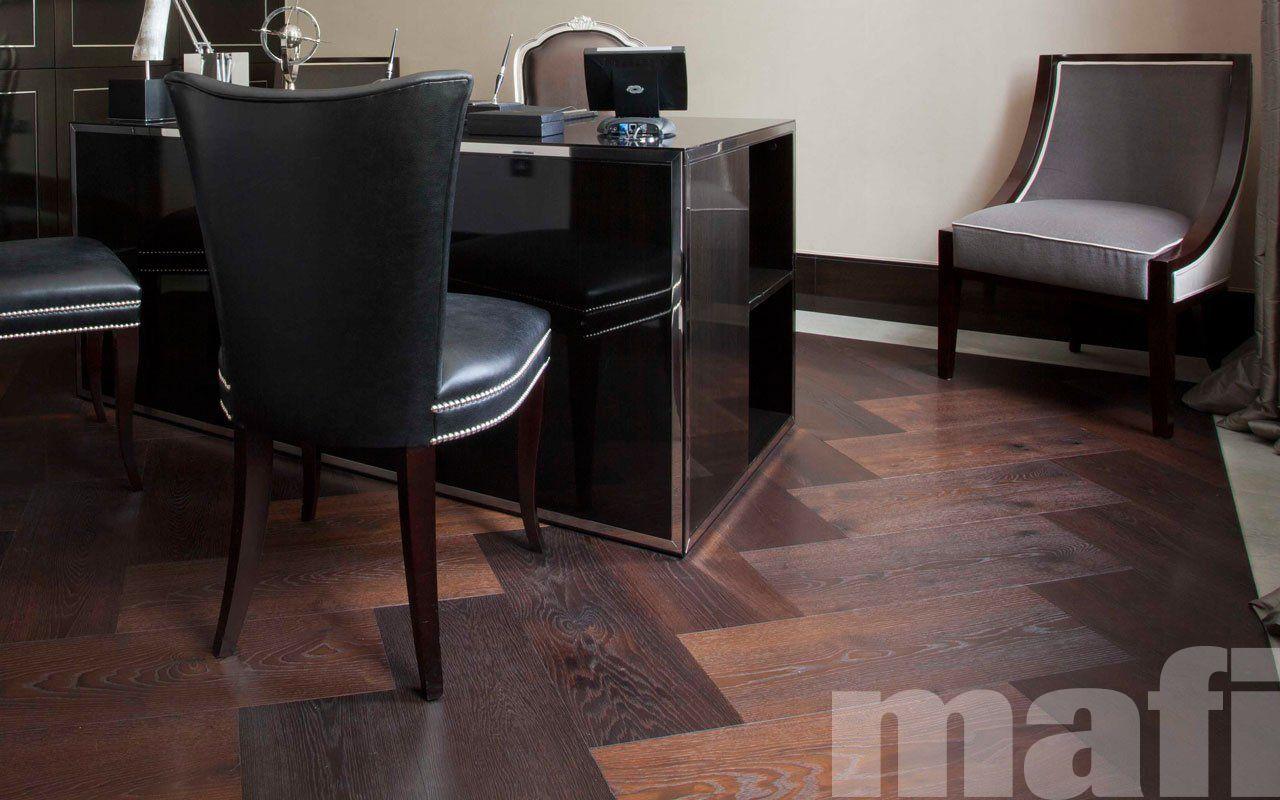 Nero Oak Parquet flooring, Engineered wood floors oak