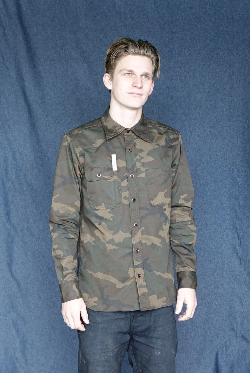 c52cd1a2b6f Tellason Topper Shirt Japanese Camo