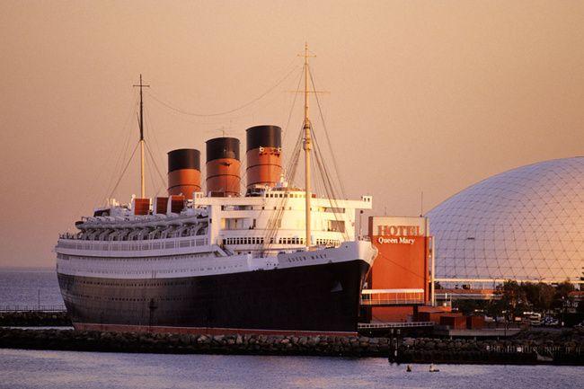 El Queen Mary es un verdadero barco fantasma. Anclado en ...