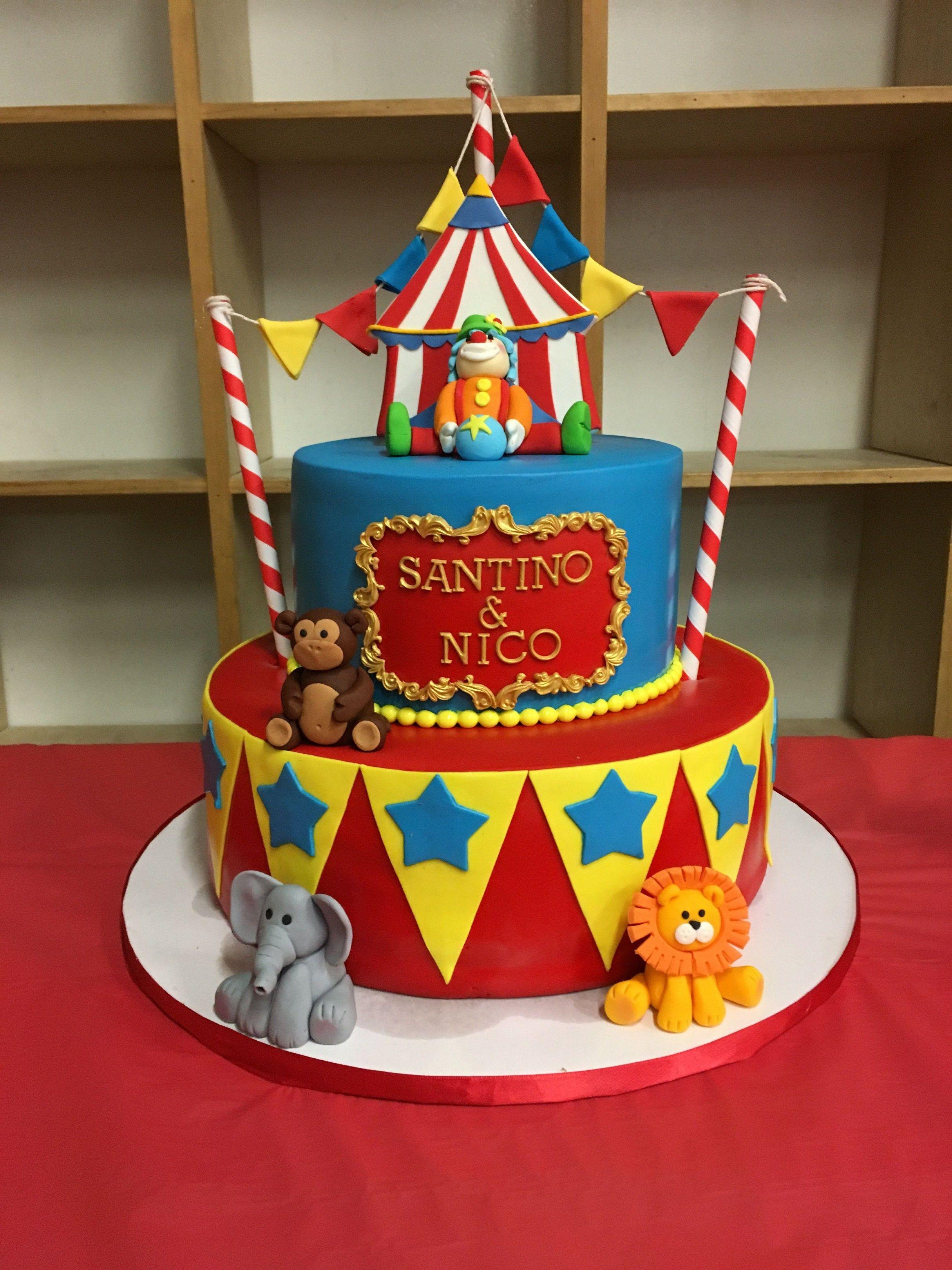 Circus birthday cakes circus birthday cake 1st birthday