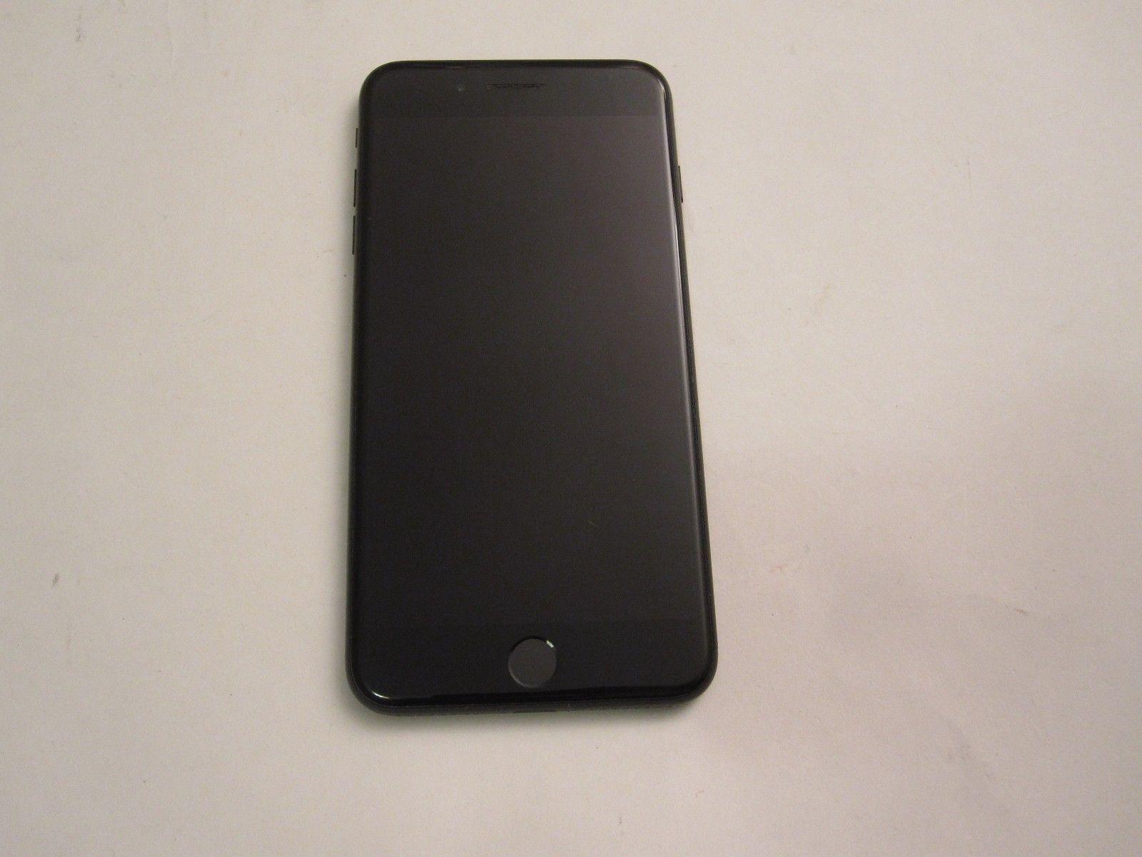 JET BLACK IPHONE 7 PLUS 256GB T-MOBILE METRO PCS STRAIGHT TALK MINT