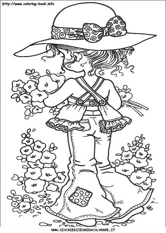 Disegni Da Colorare Gratis Holly Hobbie.Sarah Kay A01 Disegni Da Colorare Gratis Disegni Da Colorare