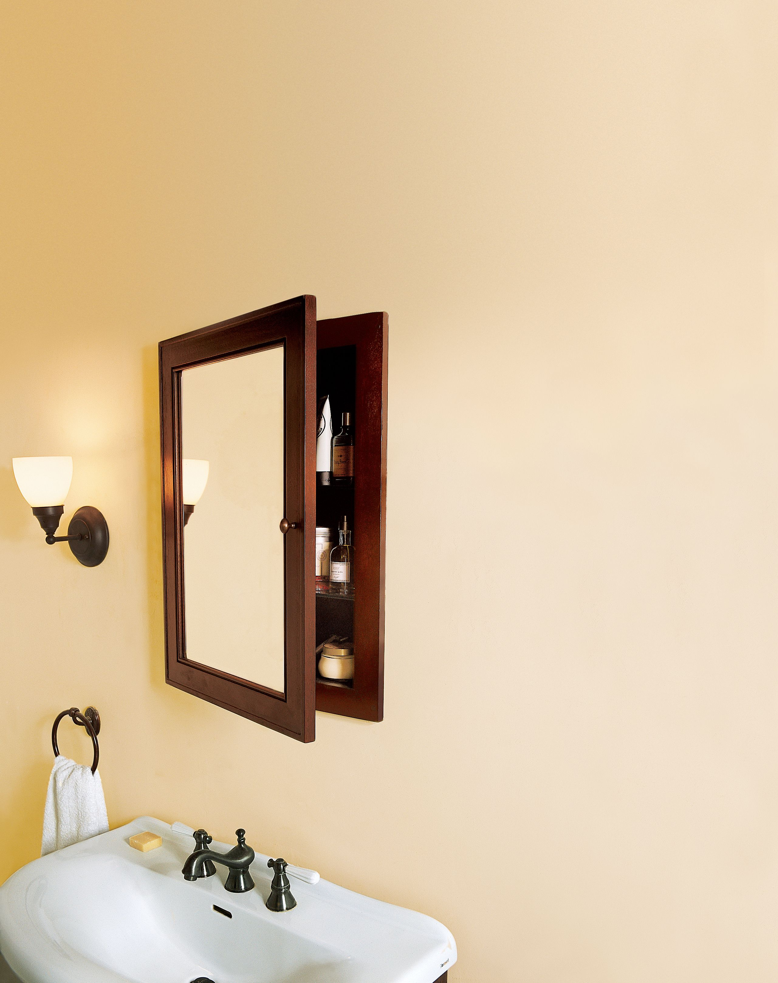 How To Install A Medicine Cabinet With Images Medicine Cabinet