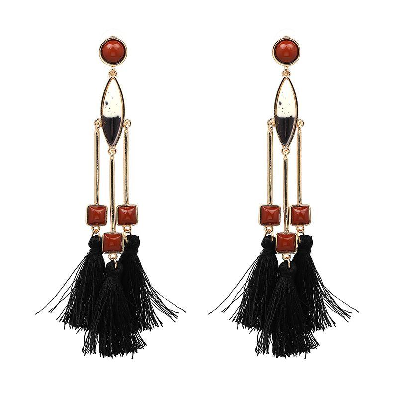 3 Colors Fashion Jewelry Trendy Earrings for Women Girl Wedding ...
