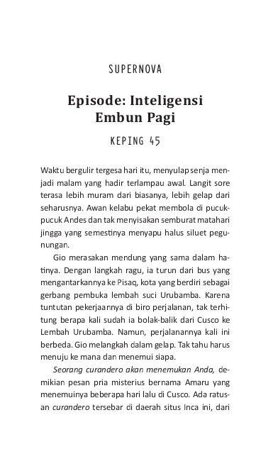 Inteligensi Embun Pagi Nukilan Kutipan Indonesia Kata Kata Indah Kata Kata