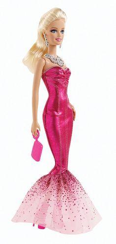 barbie vestido de gala mermaid mattel bfw19. Black Bedroom Furniture Sets. Home Design Ideas