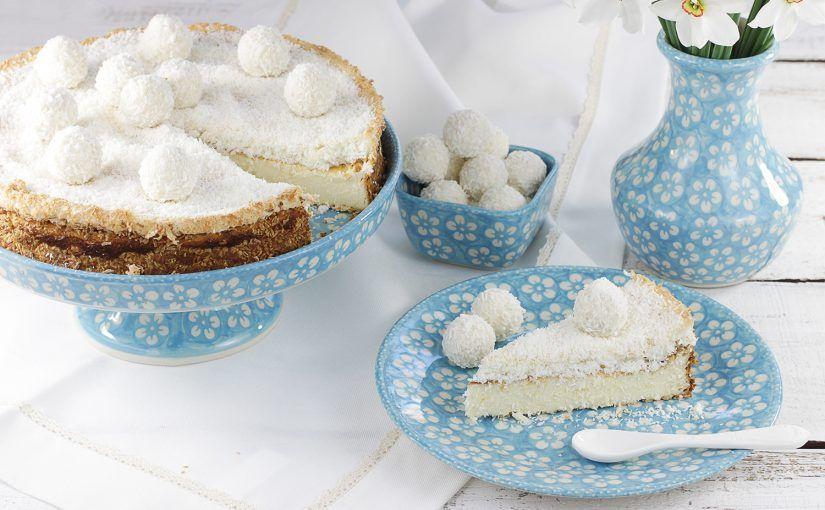 Sernik Pod Kokosowa Pierzynka Recipe Sweet Treats Food Desserts
