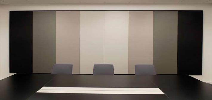 Ecophon Wall Panel C With Texona Covering Nwhf