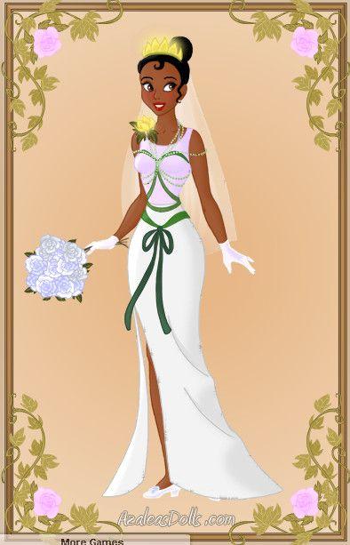 Tiana Wedding Dress by zozelini.deviantart.com on @deviantART ...