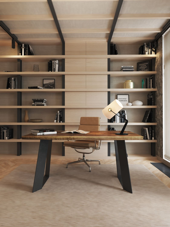 Best Home Office Interior Design For Inspiration Luchshie