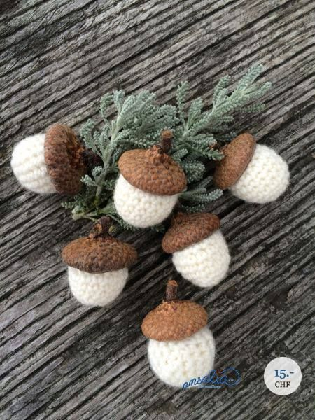 geh kelte eicheln crochet knit pinterest fenstersims tischdekorationen und h te. Black Bedroom Furniture Sets. Home Design Ideas