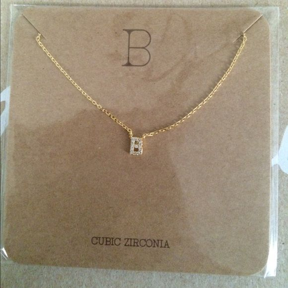 Initial letter B necklace Initial letter B necklace Francesca's Collections Jewelry Necklaces