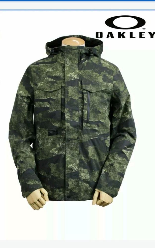 eebcdeea2 MEN'S OAKLEY INFANTRY SNOWBOARD CAMO JACKET SIZE XL JACKET MSRP $160  #Oakley #Military