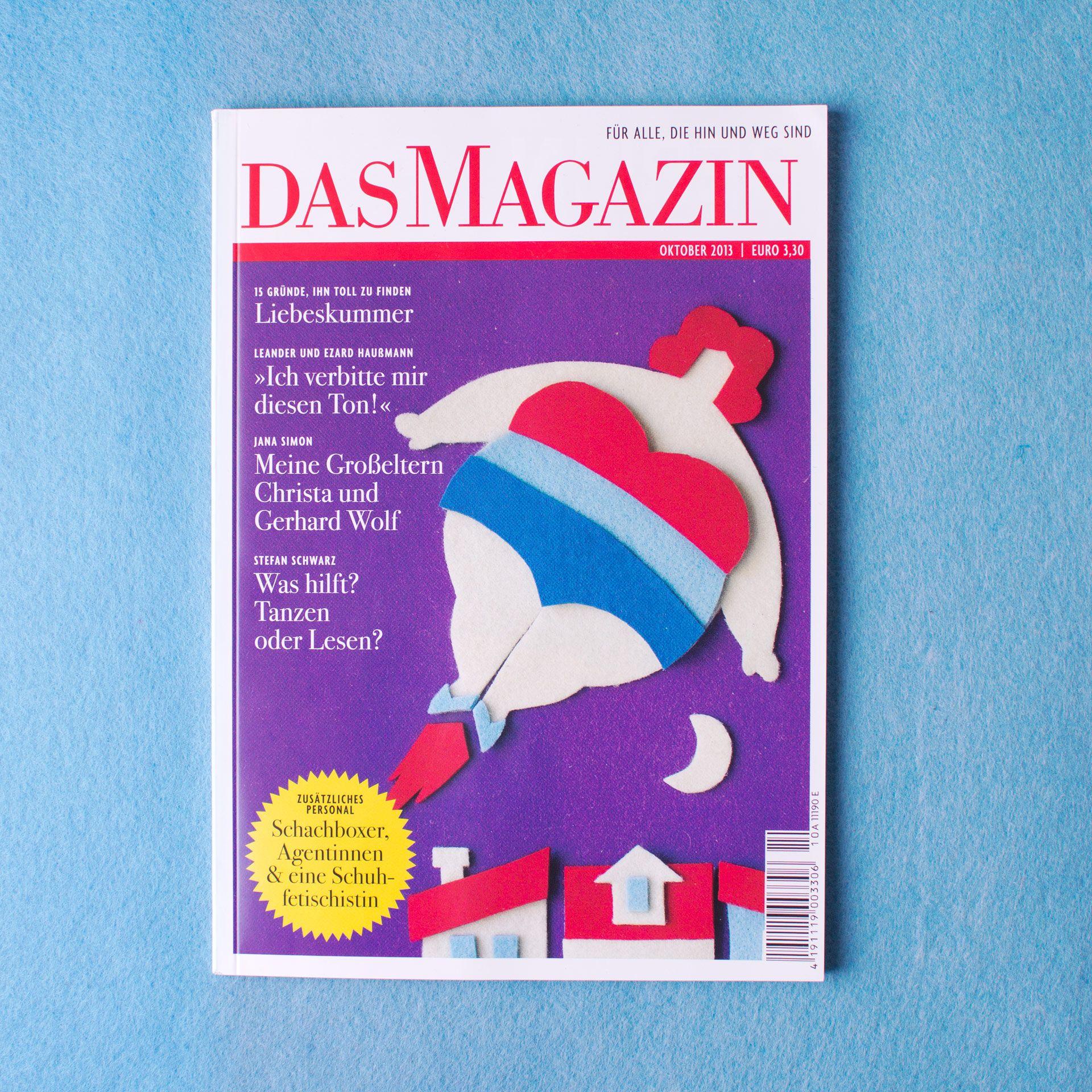 Das Magazin Cover