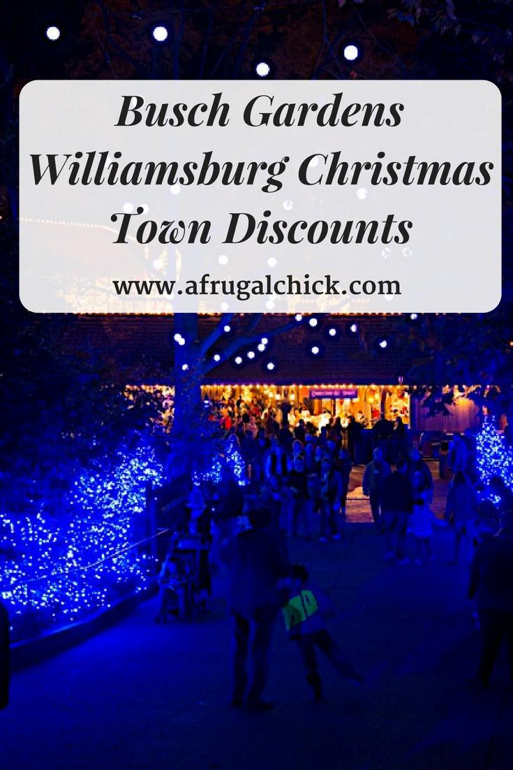 christmas town discounts find busch gardens williamsburg christmas town discounts coupon and promo codes to save on tickets - Busch Gardens Christmas Town Discount Tickets
