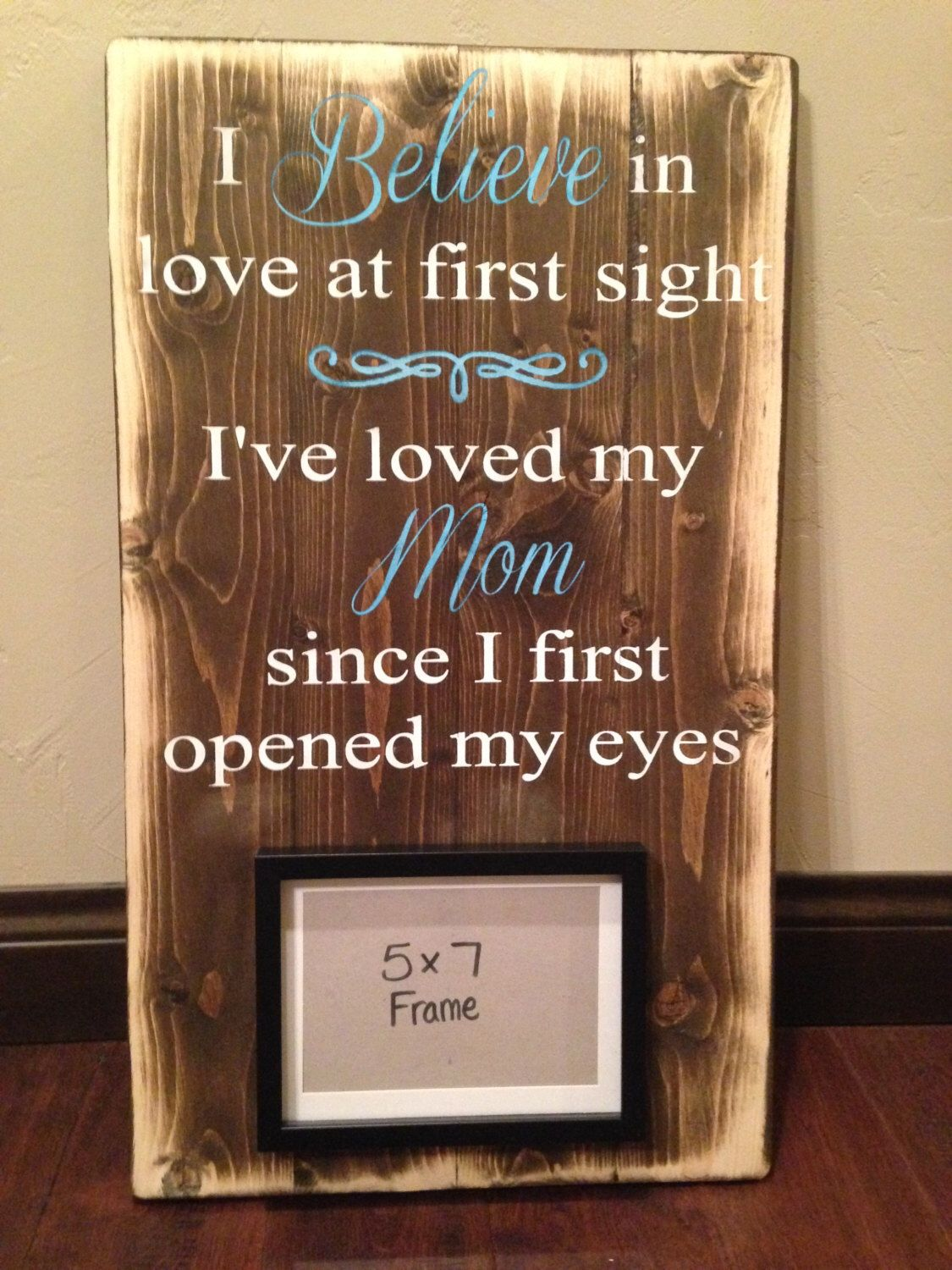Framed Wood Sign Mom Rustic Wood Sign Mother S Day Gift Gift