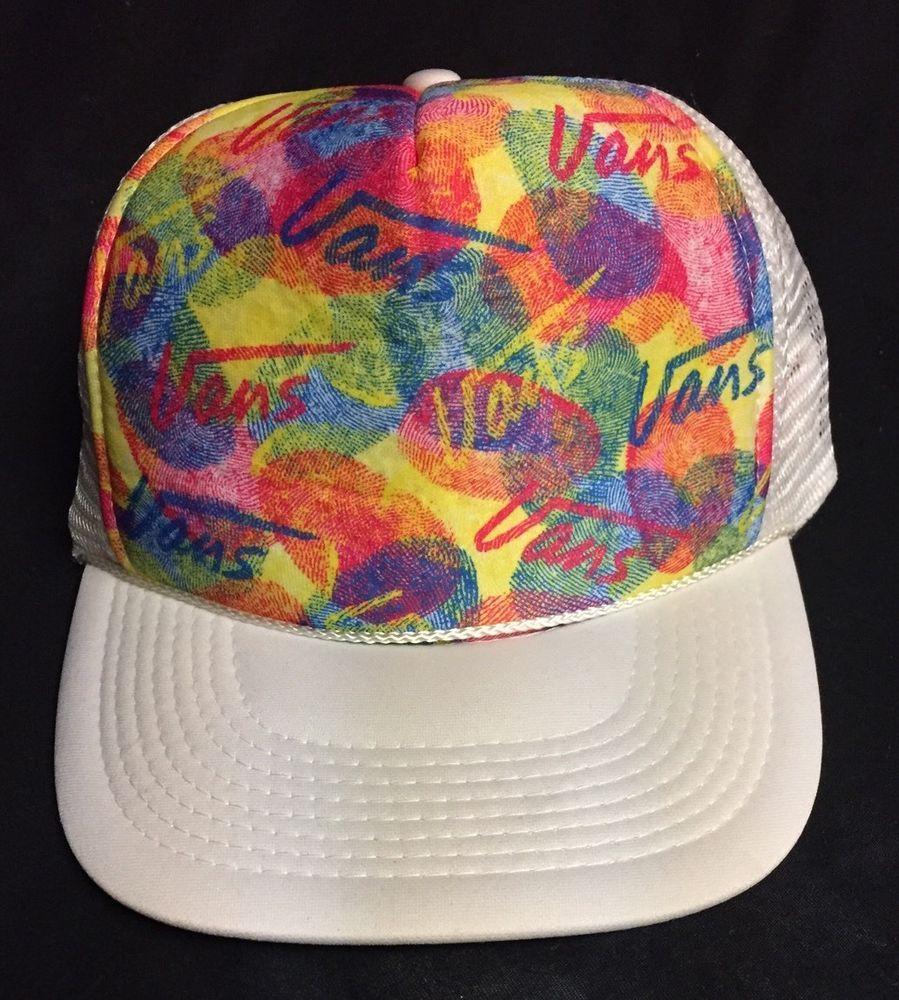 081e788be44 Vans Vintage All Over Design Snapback Hat Cap  Vans