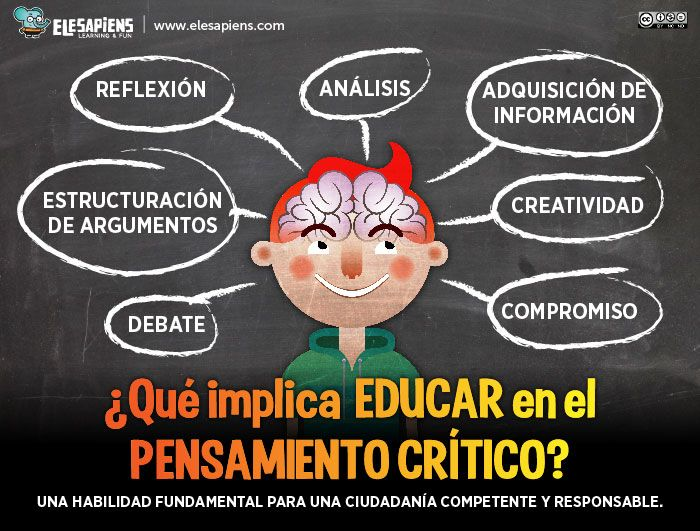 La Importancia Del Pensamiento Crítico En Los Niños