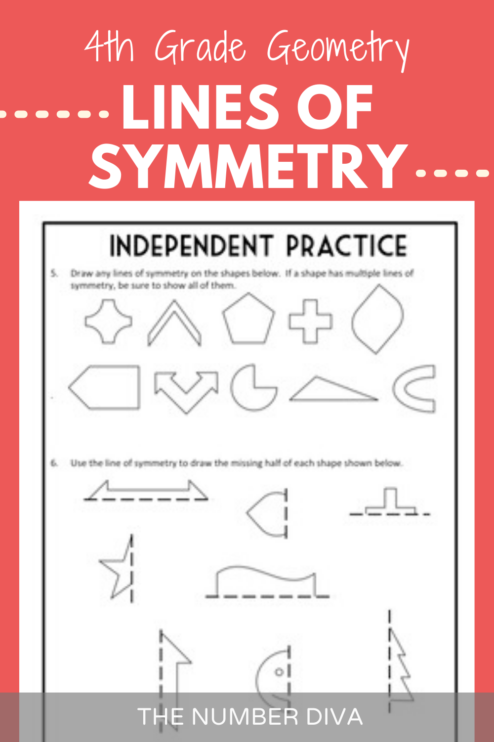 hight resolution of Lines of Symmetry