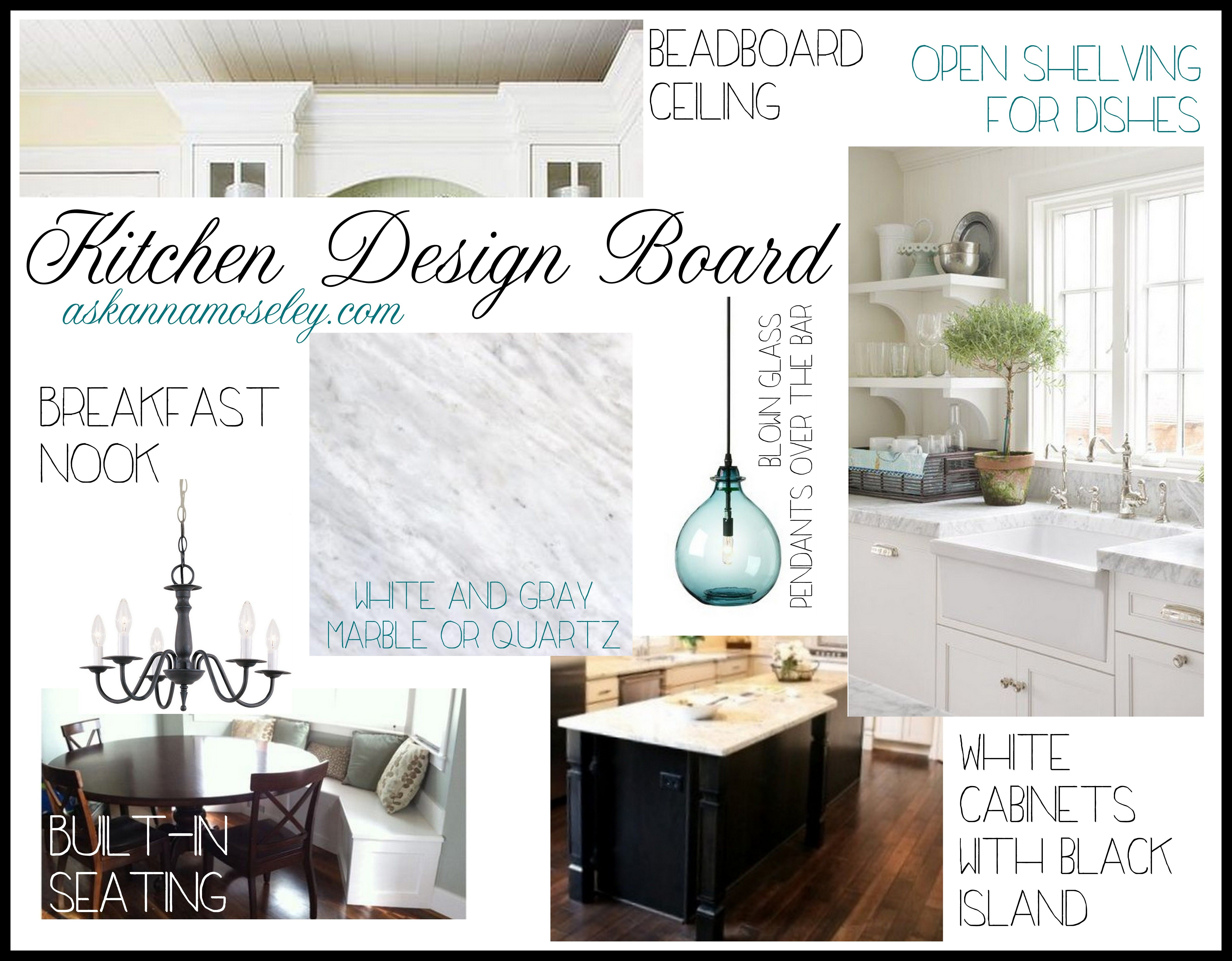 New Kitchen Design Board Ask Anna Farmhouse Kitchen Interior