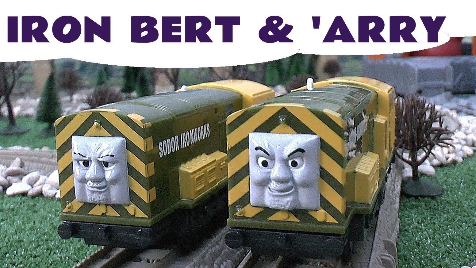 Thomas and Friends Spotlight IRON BERT & 'ARRY by