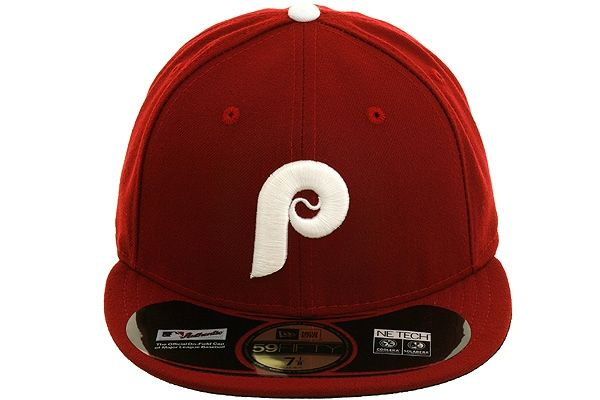 the latest d70dc 42754 New Era Authentic Collection Philadelphia Phillies 1991 Turn Back The Clock  On-Field Fitted Game Hat