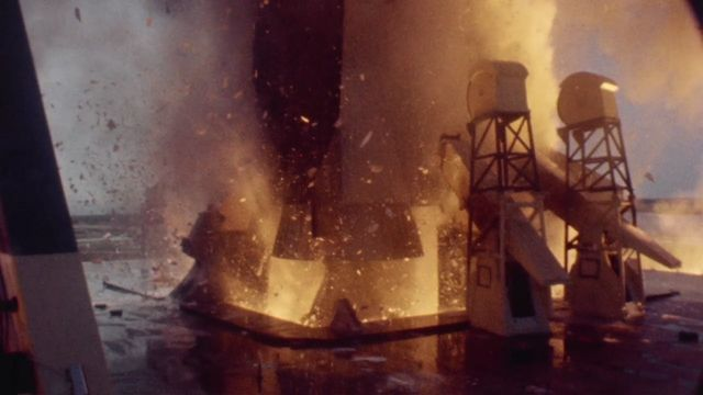 This amazing video by Spacecraft Films shows the July 16, 1969 launch of the Apollo 11 mission that landed the first humans on the moon. The camera was rol