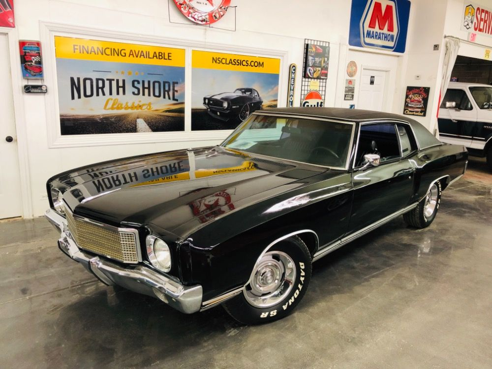 Used 1970 Chevrolet Monte Carlo Factory Code 19 Black Ps Pb Ac