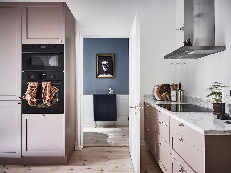 Küche in Pastell Wohnen und einrichten in Pastellfarben