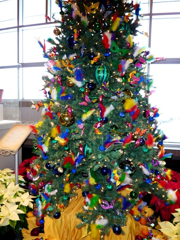 image detail for colorful feathers and birds decorates the christmas tree from brazil - Christmas Traditions In Brazil