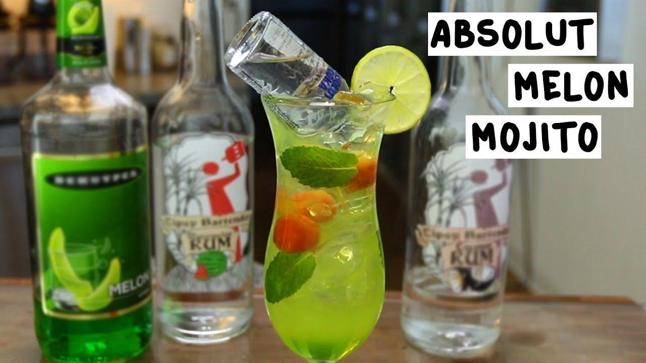 Absolut Melon Mojito Tipsy Bartender Recipe Mojito Tipsy Bartender Absolut
