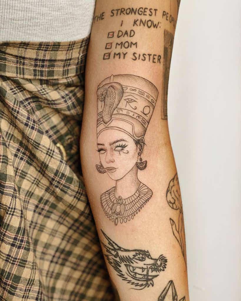 Photo of Top 97 Best Nefertiti Tattoo Ideas – [2021 Inspiration Guide]