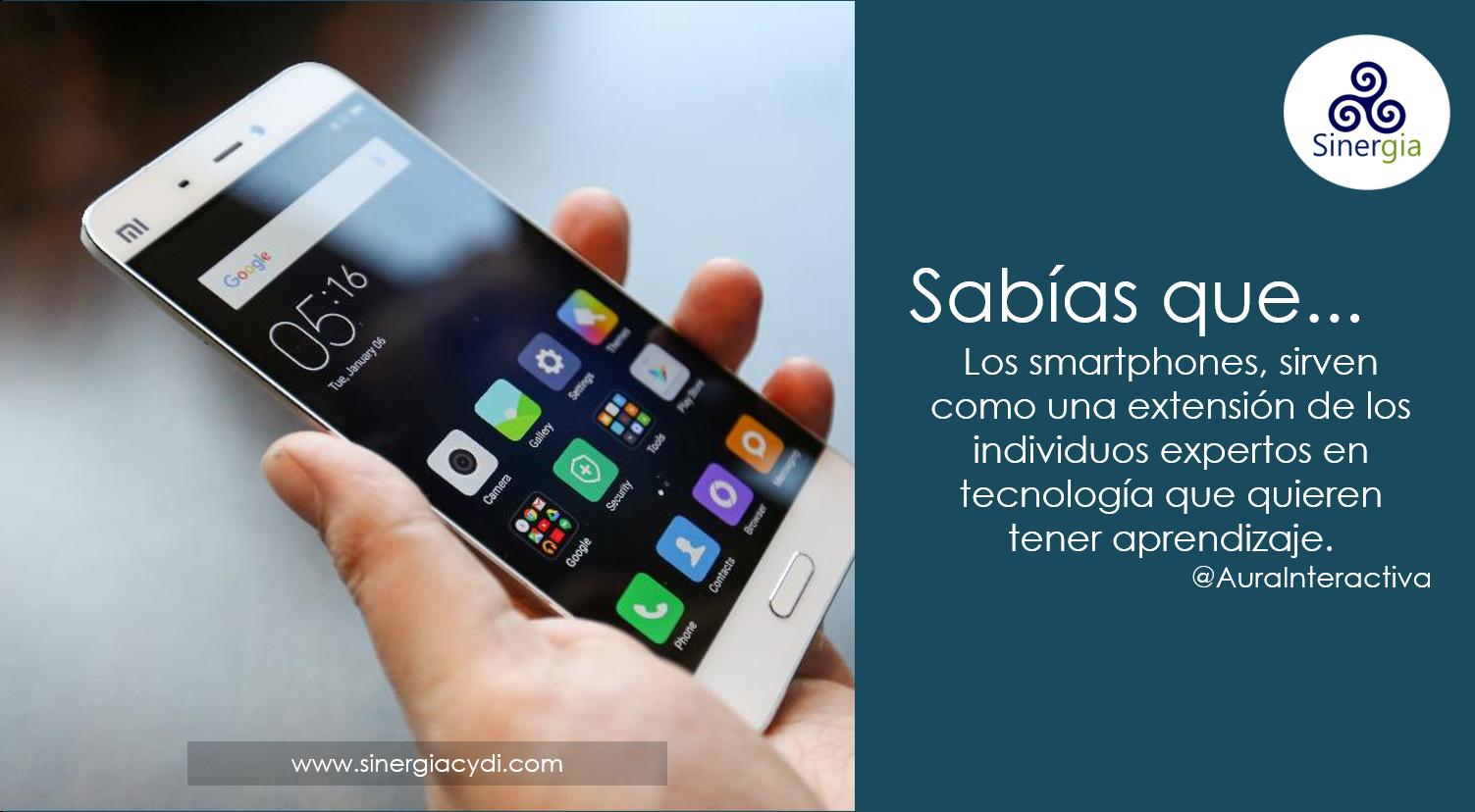 Los smartphones son excelentes herramientas para  la autogestión del aprendizaje
