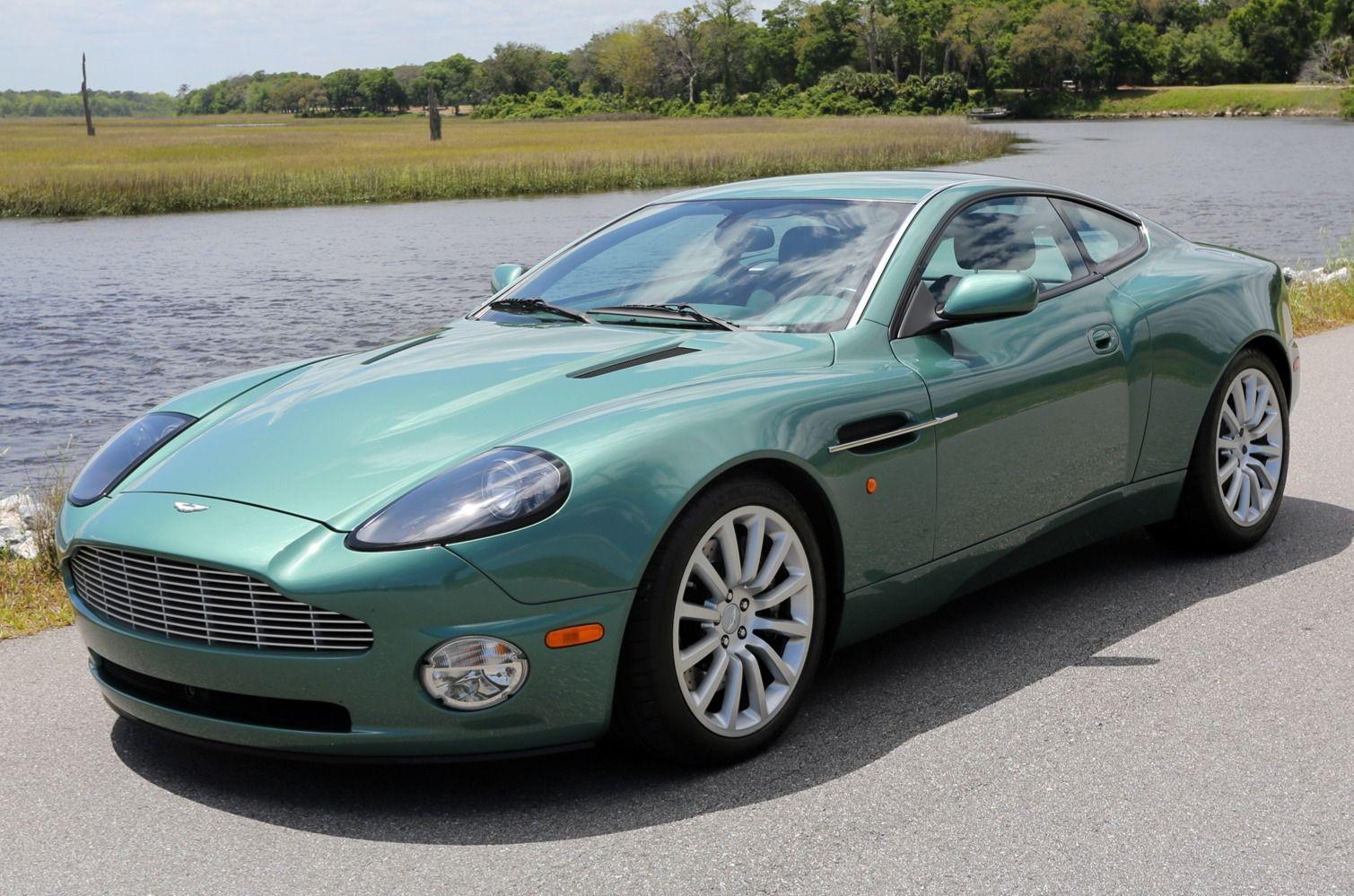 8k Mile 2002 Aston Martin V12 Vanquish Aston Martin V12 Aston Martin Vanquish