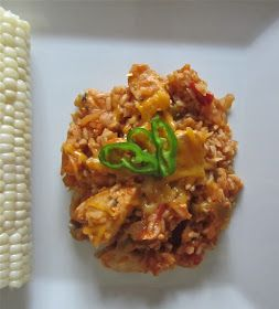 Little Mommy, Big Appetite: Salsa Chicken with Brown Basmati Rice Skillet Meal