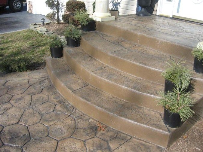 Steps and Stairs Daponte Construction Holtsville, NY | concrete ...