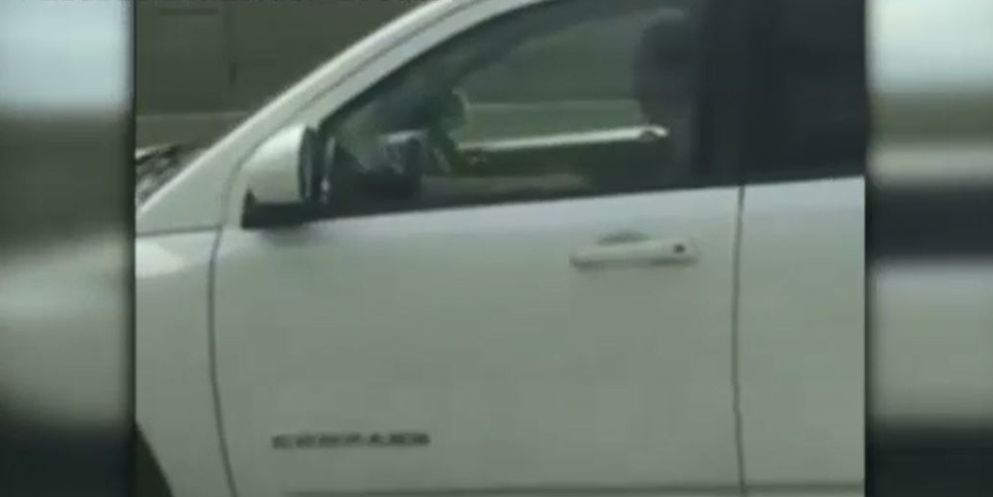 After video caught her texting and driving with her foot on the dashboard, a driver is catching a lot of shaming on and off the internet.