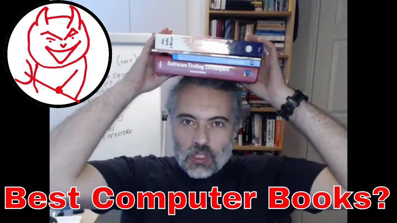 Best Computer Books? What books for Software Testers to read? https://youtu.be/SsrgtsQ5lBY