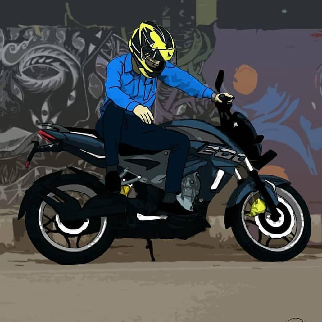 Bike Pic Image By Mani Arjun Bike Drawing Bike Sketch Bike