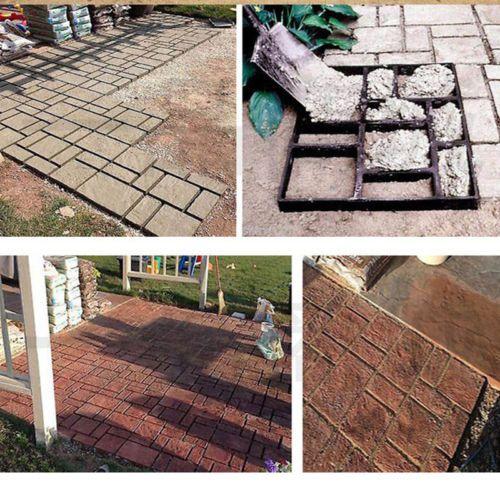 Pflasterform DIY Schalungsform Betonpflaster Gehweg Betonform Garten Gießform