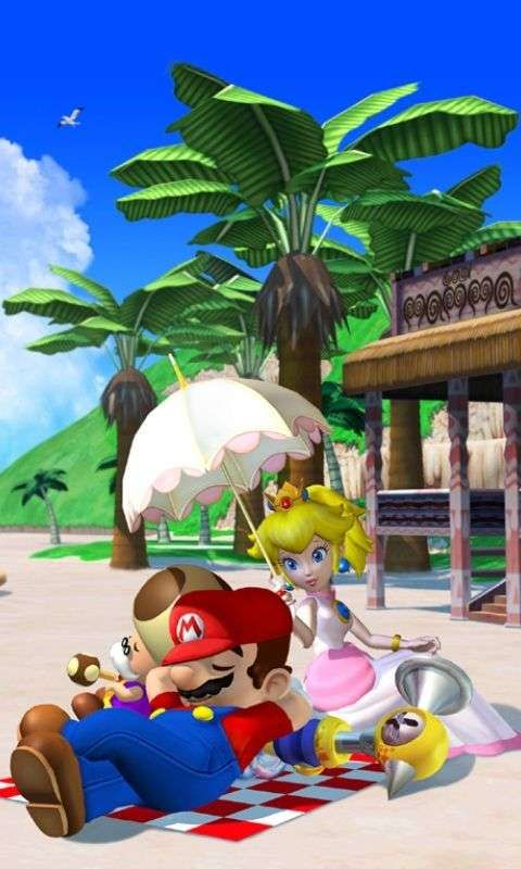 Download Super Mario Sunshine 480 X 800 Wallpapers 1494250 480 Super Mario Sunshine Super Mario Mario