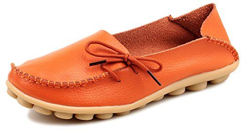 1df9bccec0f Kunsto Womens Leather Casual Loafer Shoes    Read more at the image link.  (This is an Amazon affiliate link)