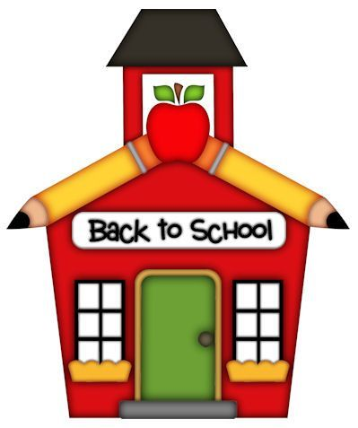 pictures of school house 4th grade boards decorations rh pinterest com back to school clip art borders back to school clipart png