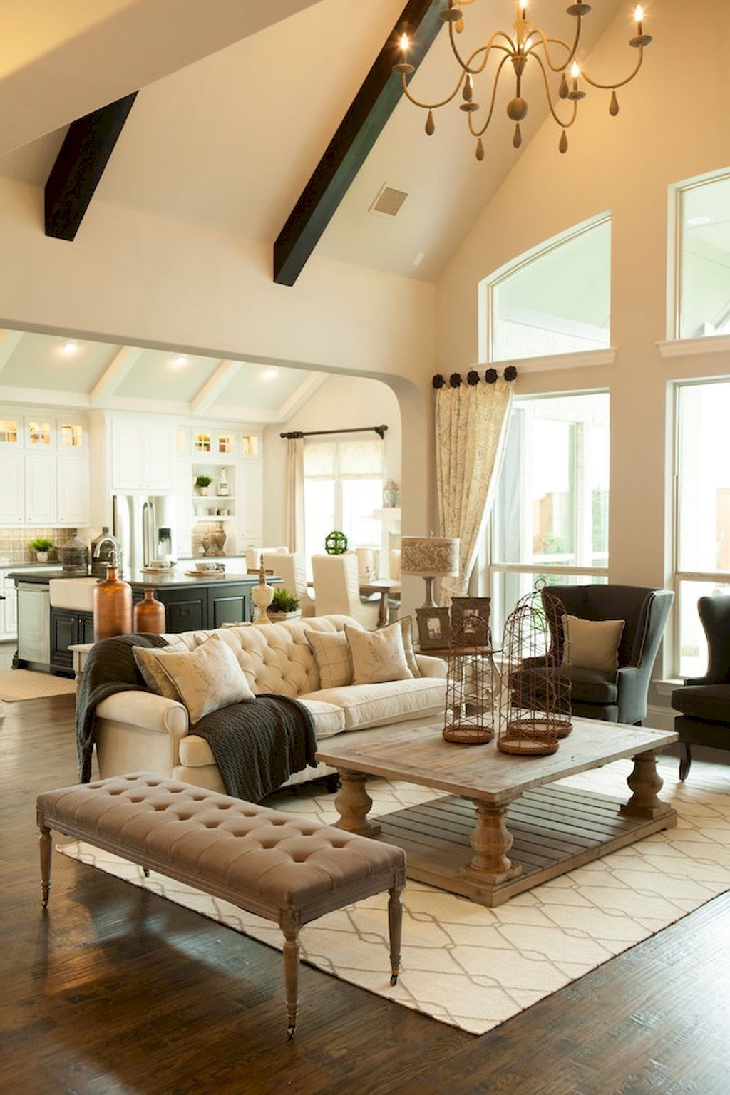 Cool 60 Amazing Farmhouse Style Living Room