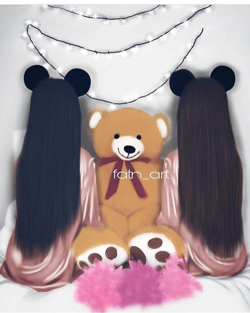 Pin By نازیہ صدیقی On Teddy Love Girly M Girly Pictures Girls Cartoon Art