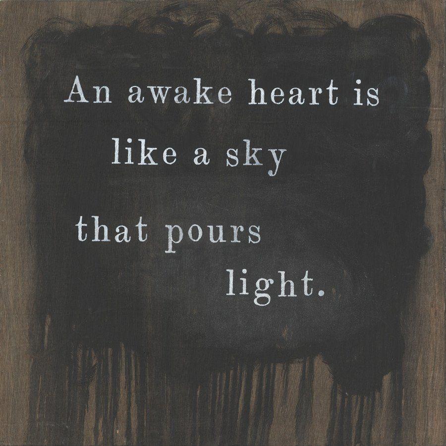 An Awake Heart*