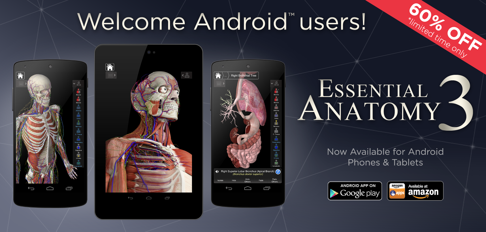 Calling all Android & Window Lovers! Our Essential Anatomy 3 App is ...